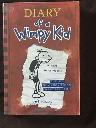Diary of a Wimpy Kid books (Hardbound/Paperback)