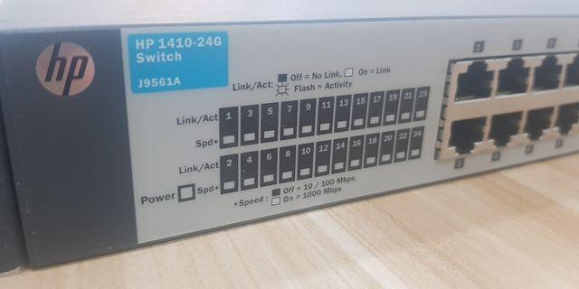 HP 24 ports 1410-24G Switch