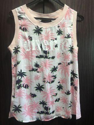 🚚 Floral beach shirt