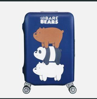 Bare Bear Elastic Luggage Cover