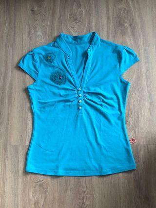 Turquoise Top / Atasan Hijau