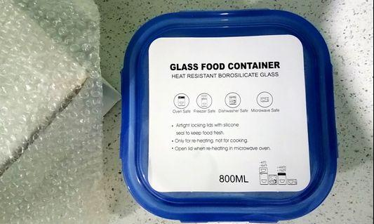 Glass Food Container (800 ml)