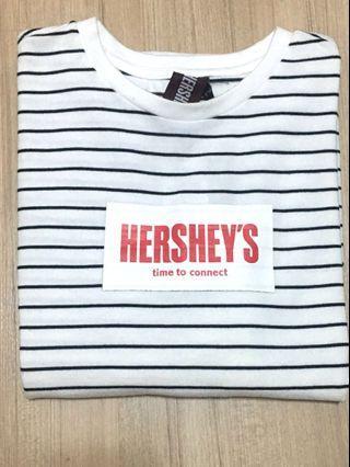全新|H:connect正品Hershey's條紋上衣