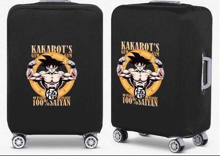 🚚 Dragon Ball Saiyan Luggage Cover/Protector
