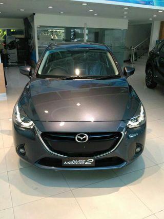 habisin stok Mazda 2 vin 2018 new