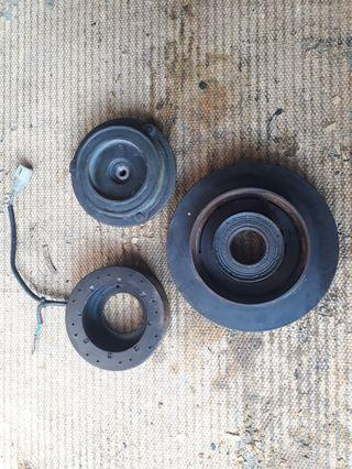 Coil magnet compressor aircond satria wira