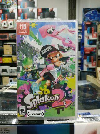 🆕 Nintendo Switch Splatoon 2