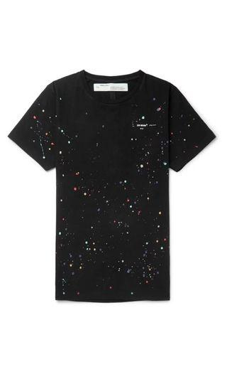 NEW OFF WHITE SS19 PAINT SPLATTER