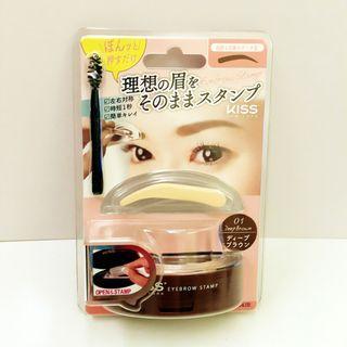 🚚 原價399 Kiss美眉印章 眉毛印章 眉粉 眉筆 eyebrow stamp 眉妝眼眉  香港帶回韓國製