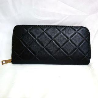 [⏰TIME SALE!] Grid Design Long Zip Around Wallet