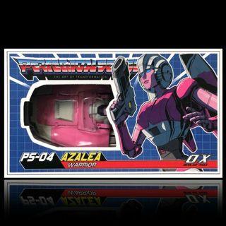 全新 transformers 變形金鋼  MMC PS-04 Azalea (masterpiece Arcee)