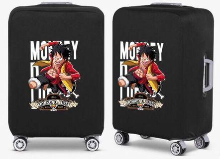 🚚 Monkey D. Luffy Luggage Cover/Protector