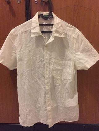 Benetton White Shirt
