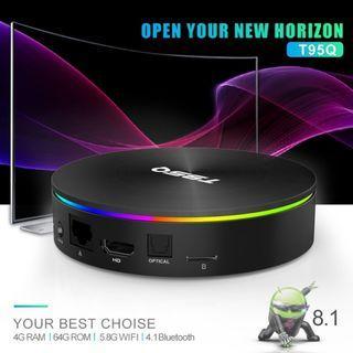 Android Tvbox T95Q 4g/64g Oreo 8.1- Youtube 4k