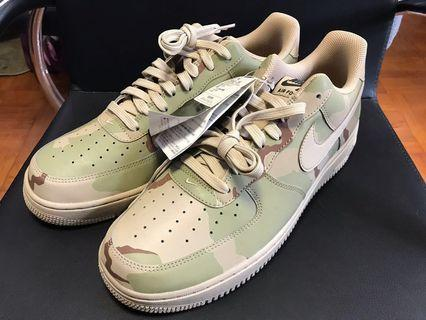 日本全新 沙迷彩Nike Air Force 1 07 LV8