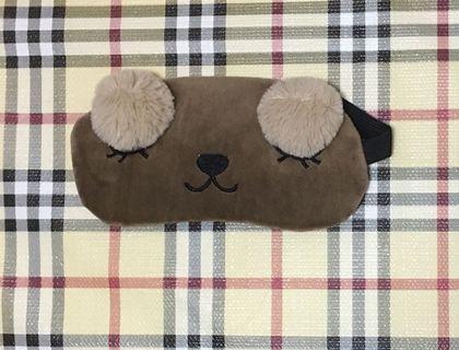 Cute Bear Eye Mask with Cooling Gel Pad