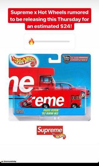 Supreme Hot Wheels