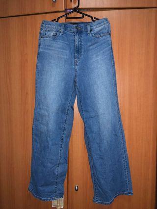 UNIQLO high rise jeans