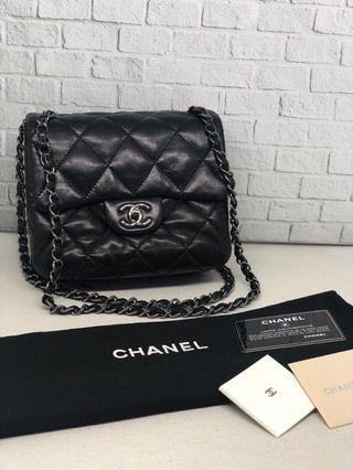 CHANEL MINI RECTANGLE 3 compartment
