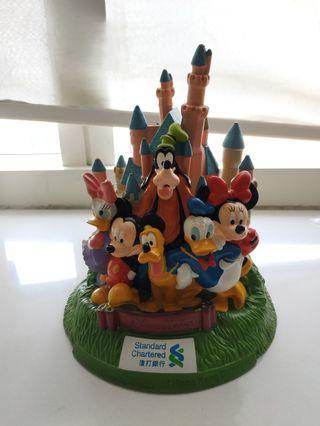 渣打銀行 迪士尼 城堡 紀念 錢罌