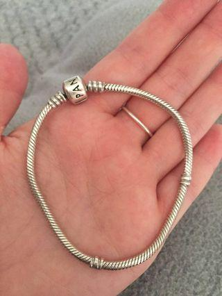 Pandora bracelet! Length is 19