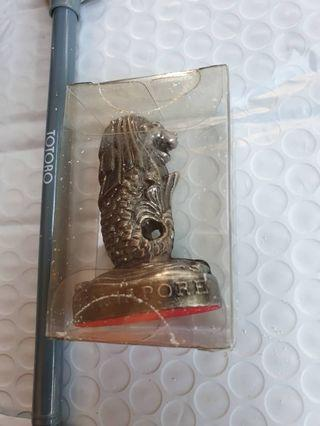 Singapore merlion statue rm15 NEW made of metal
