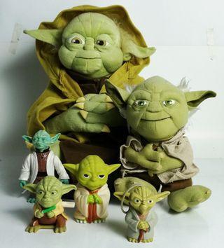 Star wars Yoda collection lot