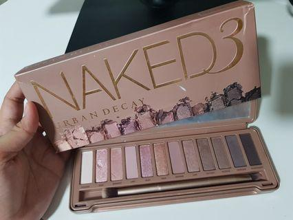 🚚 Authentic Urban Decay Naked 3 Palette