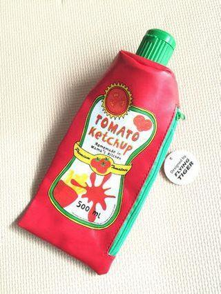 🚚 Flying Tiger Tomato Sauce Pencil Case