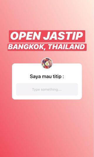 JASTIP BANGKOK THAILAND