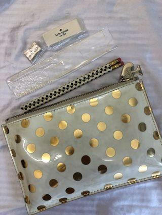 Kate Spade Pencil Case & Stationary