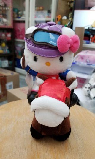 2002 JAPAN JRA HELLO KITTY 騎師賽馬公仔