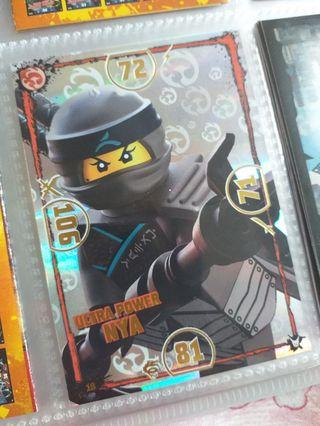 Lego ninjago trading card ultra power Nya 自行出價