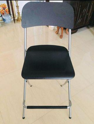 Foldable IKEA Chair for bar counter!