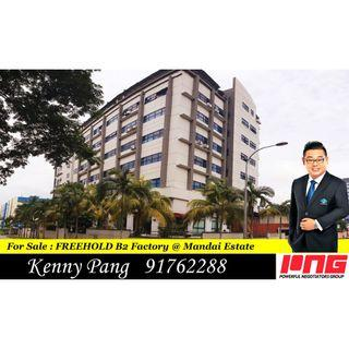 For Sale : B2 Freehold Industrial @ Mandai Estate
