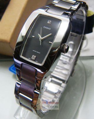 ⌚⌚⌚40%Off Brand New Casio Ladies Water Resistance Analog Metal Watch-6折卡西歐女装防水行針鋼錶