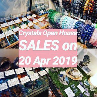 Crystals SALES on 20 Apr 2019