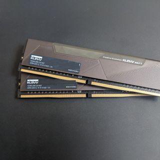 Klevv Bolt X DDR4 XMP 3200MHz 16GB memory (8GBx2) Local Lifetime Warranty