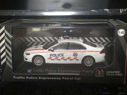 SPF Traffic Police Car Scale 1:43 Volvo S80