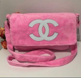 Gorgeous Pink Teddy Luxury Designer Cross Body Bag