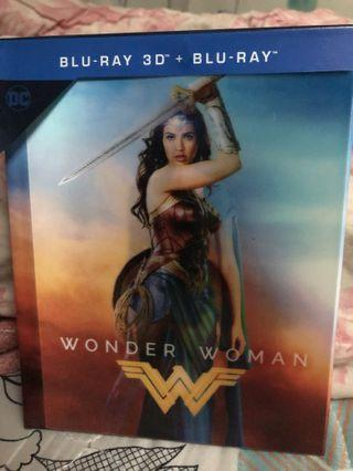 Wonder Woman Blu Ray 幻變封面版