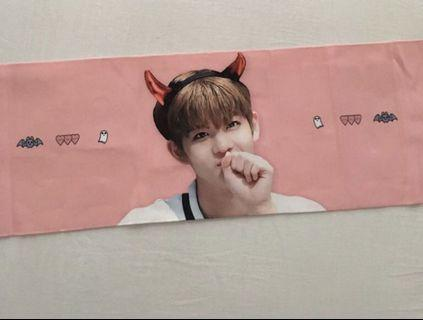 wanna one jinyoung devil slogan