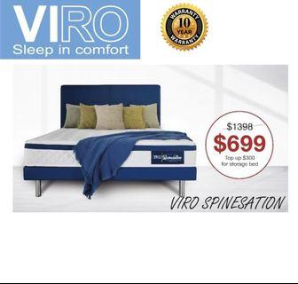 Viro queen bed set