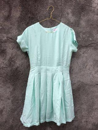 Mint Mini Dress