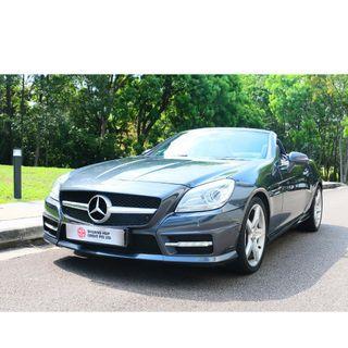 Mercedes-Benz SLK200 BlueEfficiency 7G-Tronic Auto