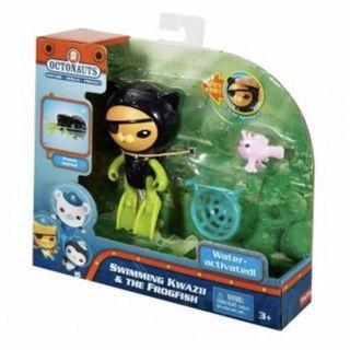 費雪 海底小縱隊-玩水電動組 嘉嘉 洗澡玩具