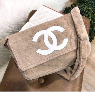 Gorgeous Teddy Designer Luxury Plush Cross Body Bag