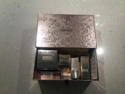 Lancôme skincare products