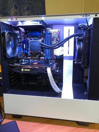 Mid End Custom Gaming PC
