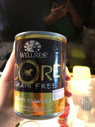 Wellness core grain free canned food